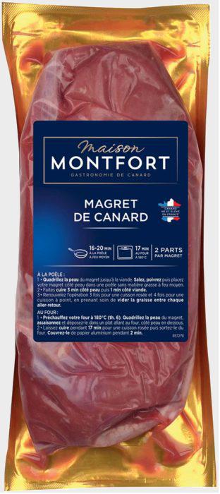 Magret de canard cru France