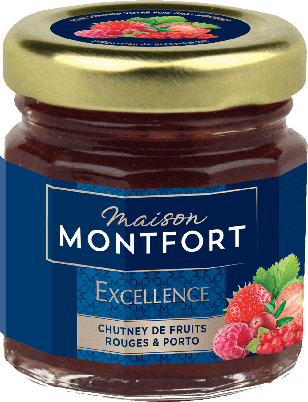 Chutney de fruits rouges au porto