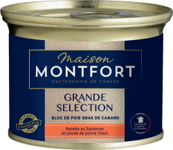 Bloc de foie gras de canard, recette au Sauternes et au poivre de Timut